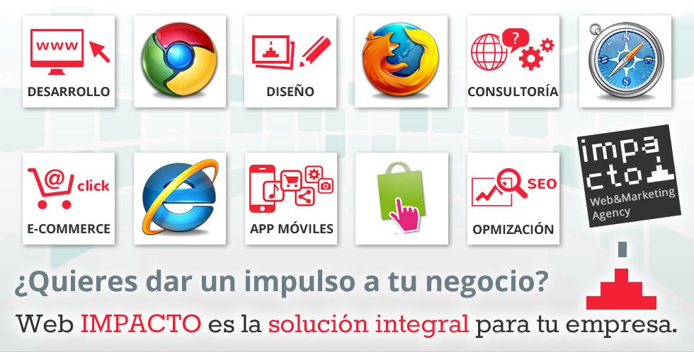 Webimpacto: especialistas en tiendas online en prestashop madrid bacelona