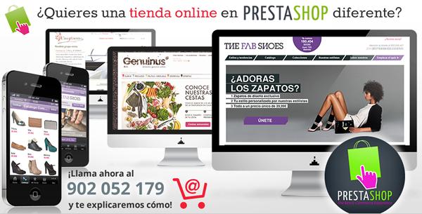 Desarollo en Prestashop / Expertos en Prestashop / Madrid y Barcelona