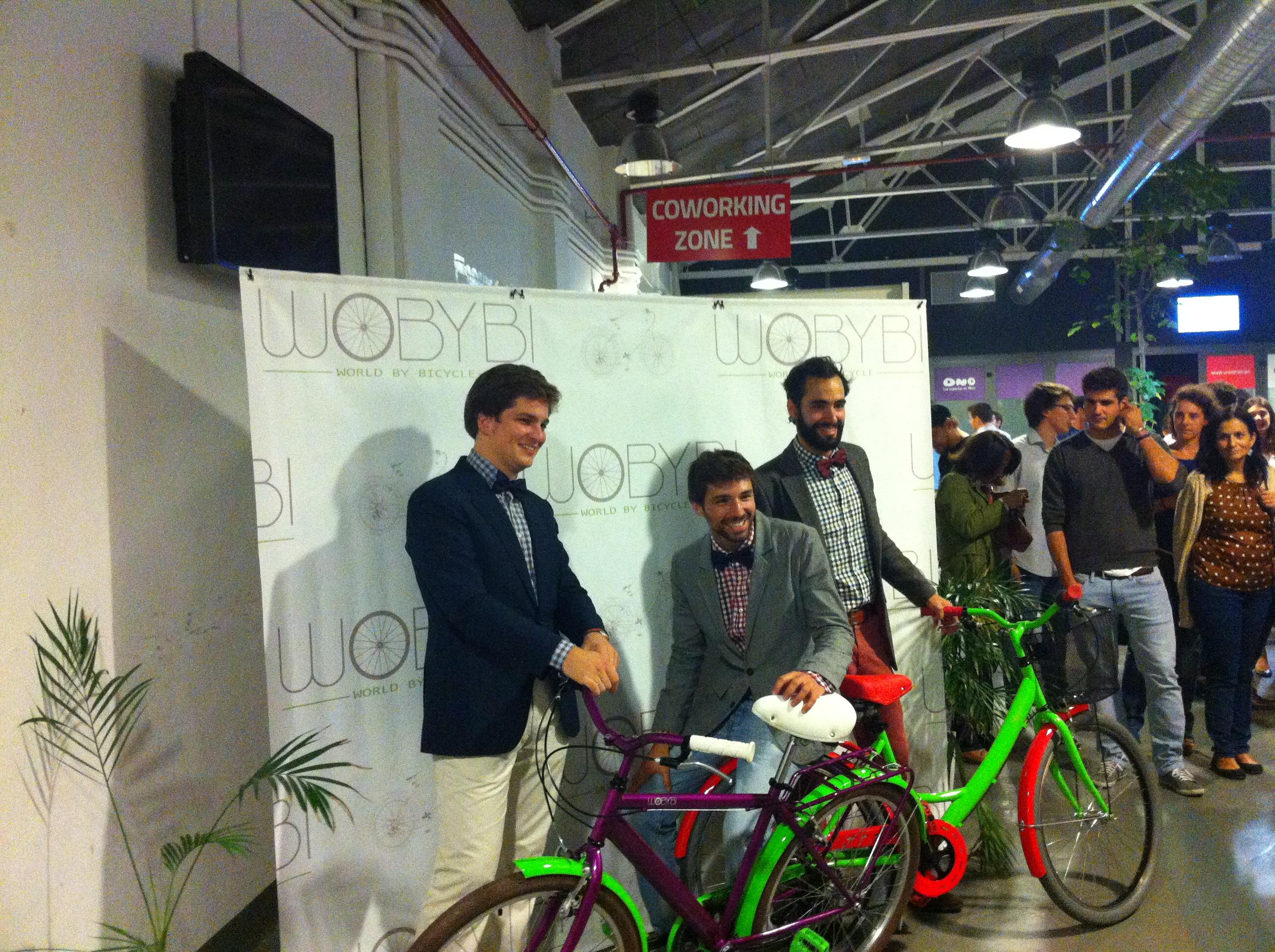 wobybi tienda online de bicicletas presentacion madrid