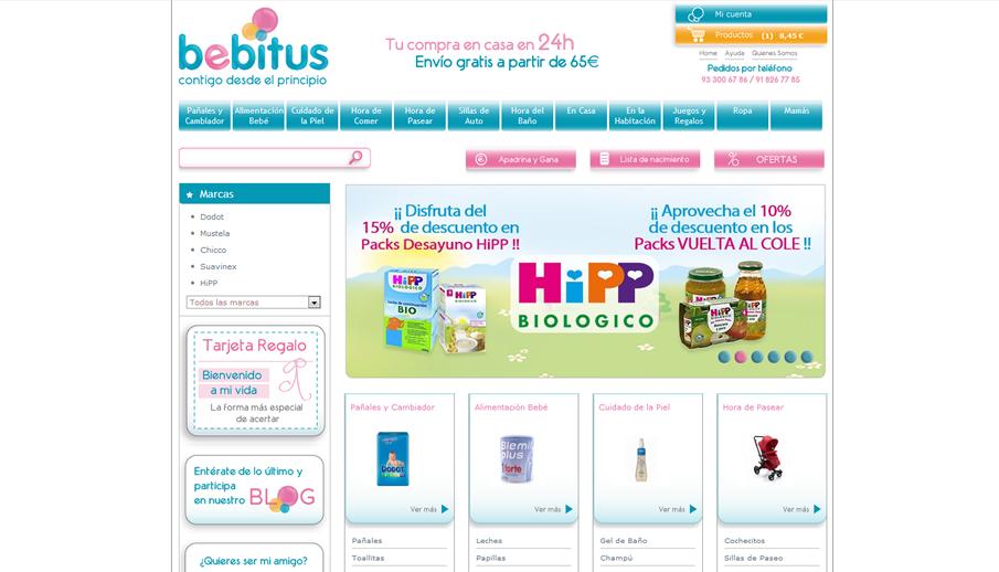 la mejor tienda online para bebés de españa