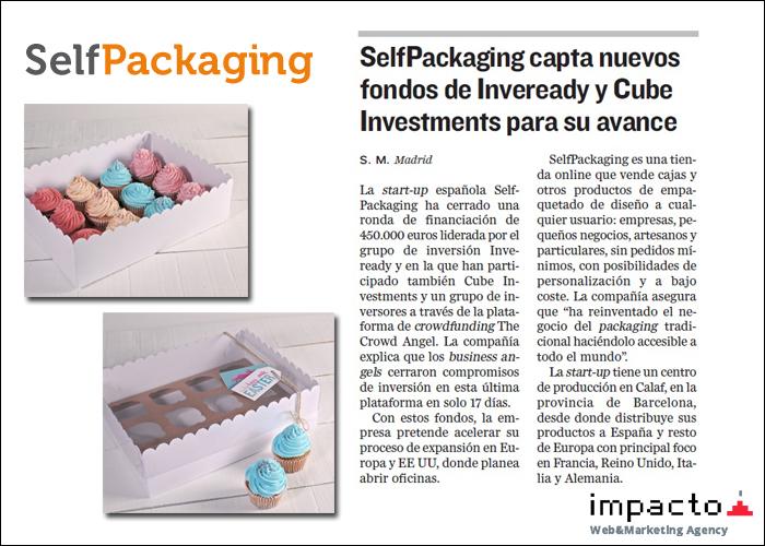 La tienda Prestashop SelfPackaging ha captado nuevos inversores para continuar con su expansión internacional