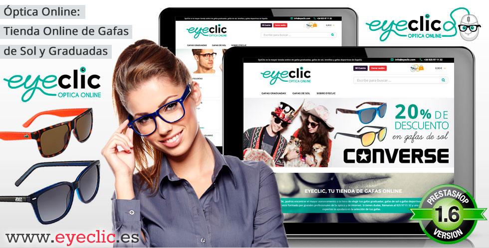 Eyeclic, tienda online de gafas de sol y graduadas