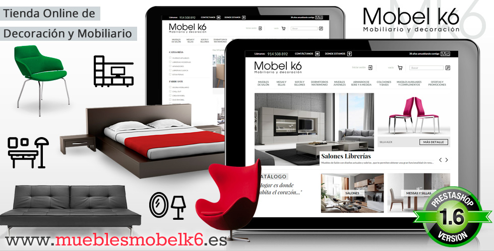 Tienda de Muebles online Muebles Mobel k6