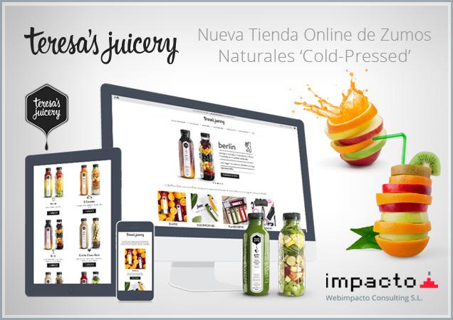 Teresa\'s Juicery - Webimpacto