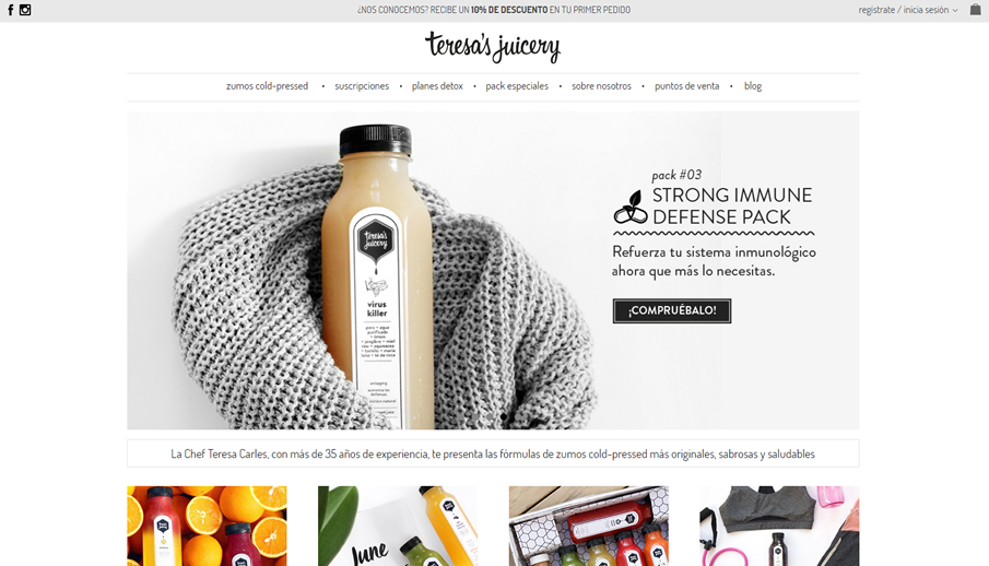 Home Teresa\'s Juicery