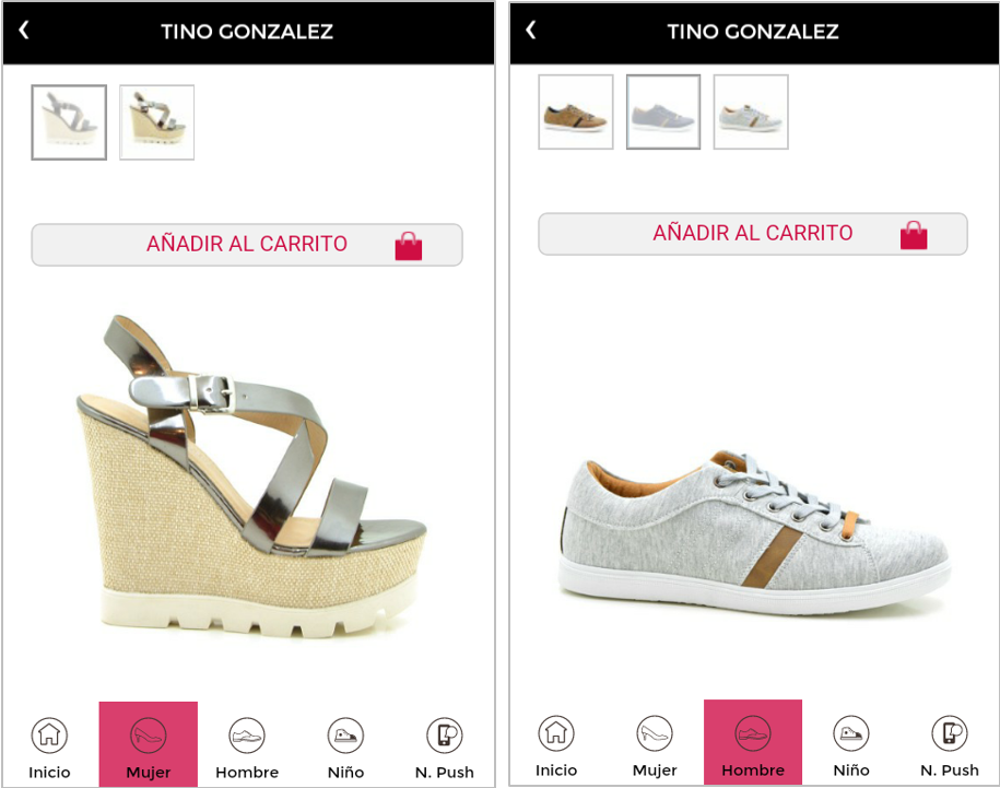 App TIno González - App4less