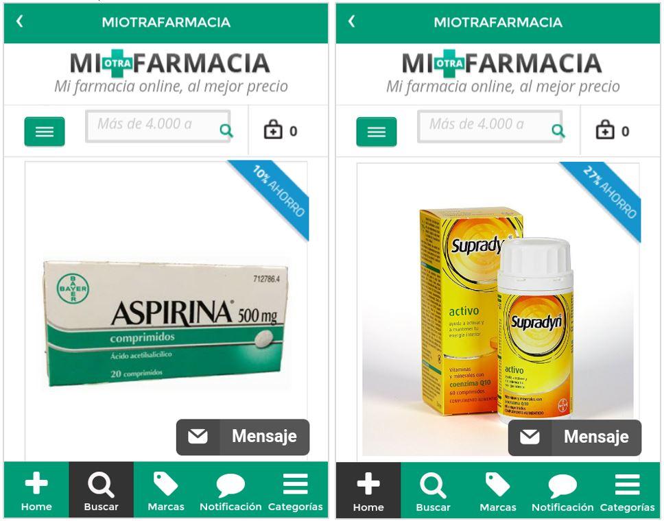 MiOtraFarmacia App