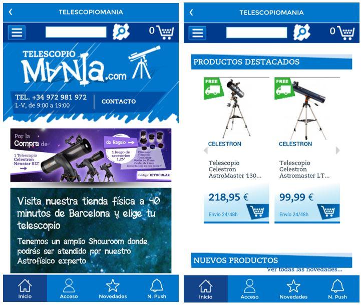 app telescopiomania 2