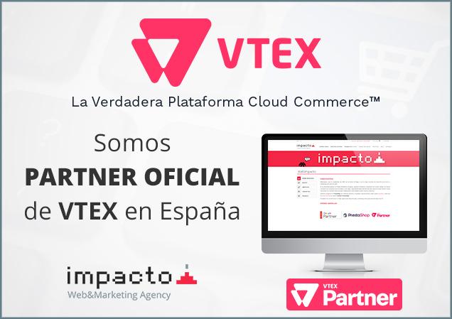 Somos partner oficial de VTEX en España