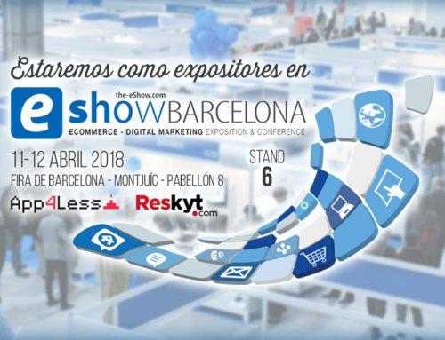 ¡Visítanos en el eShow de Barcelona!