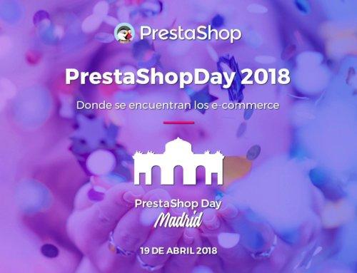 PRESTASHOP DAY 19 de abril 2018 ¡Allí te esperamos!